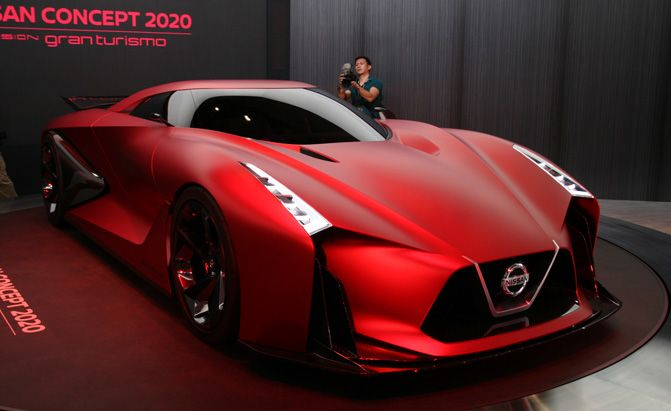 Nissan Concept 2020 Vision Gran Turismo is on Red Alert