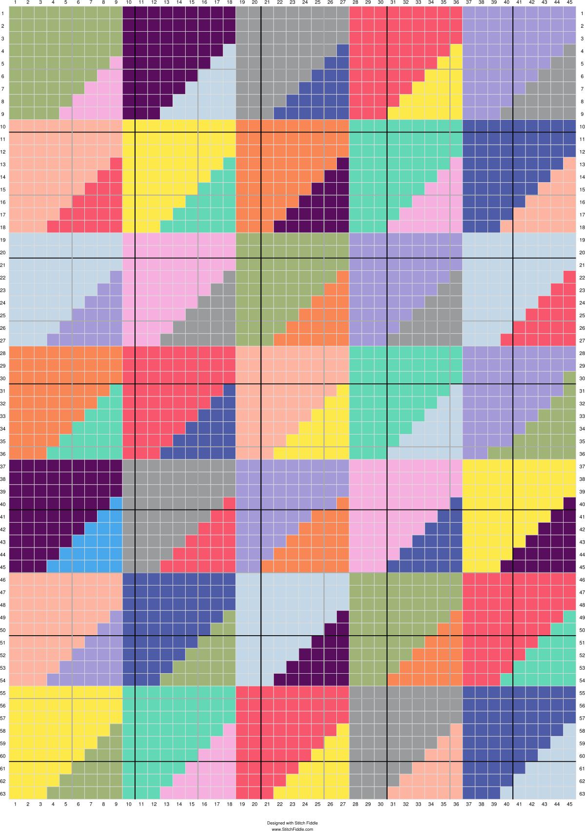 geometric rainbow c2c