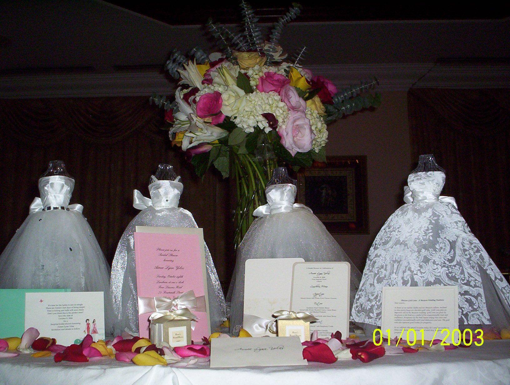 Pinterest Bridal Shower: Flowers, Favors, Decorations