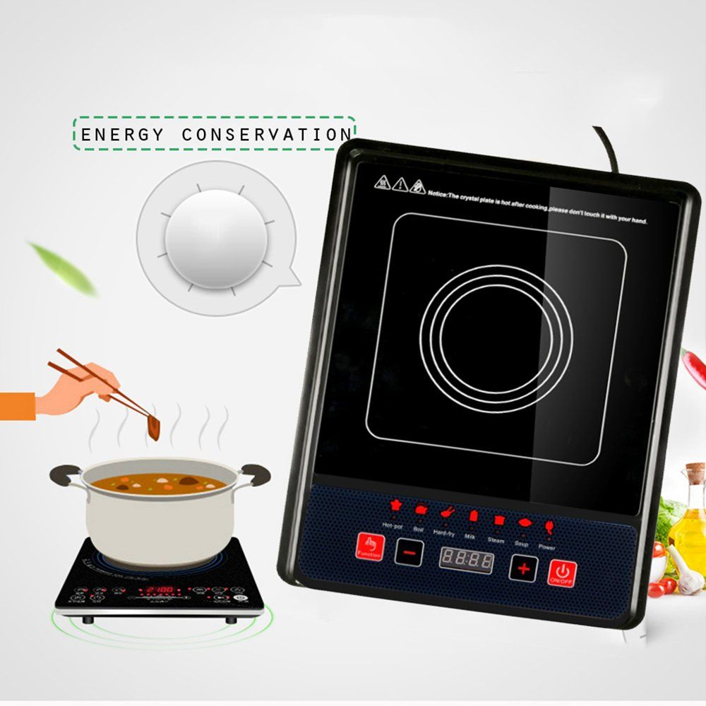 Denshine Induction Cooktop Induction Hot Plate Portable Induction Cooktop Induction Burner Digital Electric Induction Cookt Kitchen Sale Cooktop Portable Stove