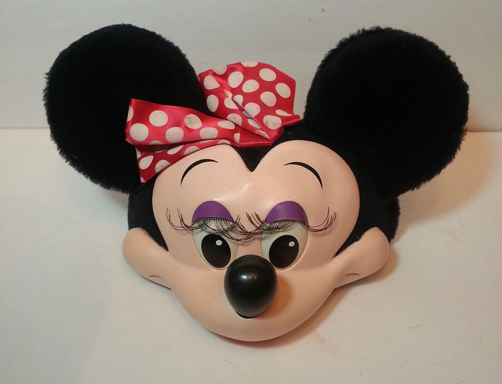 Vintage DISNEY MINNIE MOUSE Halloween COSTUME HAT Adjustable cap mini