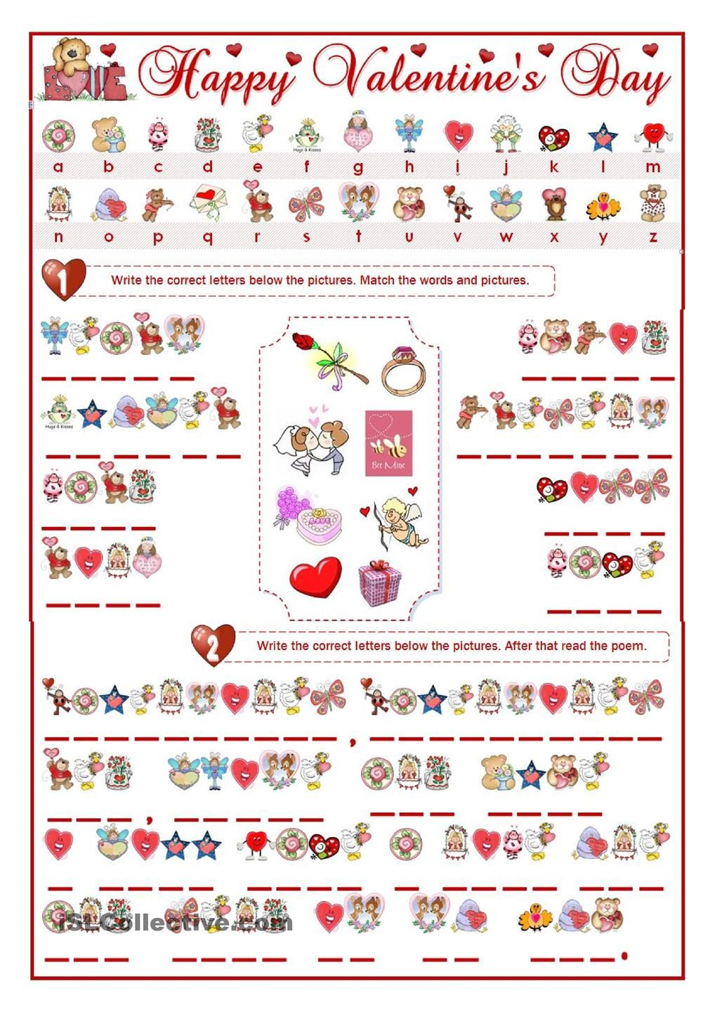 VALENTINES DAY CRYPTOGRAM | English for kids - Valentine\'s Day ...