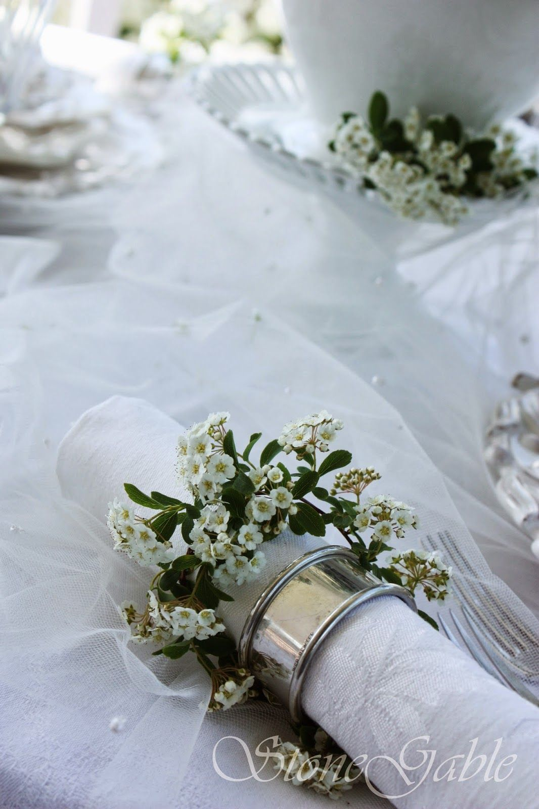 Attractive 5 INTERESTING WAYS TO USE NAPKINS AND NAPKIN RINGS... A TABLESCAPE SERIES,  PART III