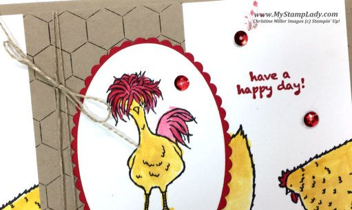 Stampin\' Up! Hey Chick Sale-A-Bration handmade card find supplies at ...