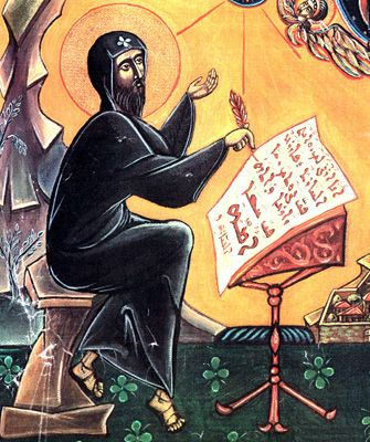 St. Ephrem (306?-373) was a Syrian poet and theologian. He was born in the Mesopotamian city of Nisibis; because of his Christian sympathies, his pagan father forced him to leave home. Ephrem was baptized a Christian, and became famous as a teacher. In 363 the Christian emperor was forced to cede Nisibis to the Persians. …