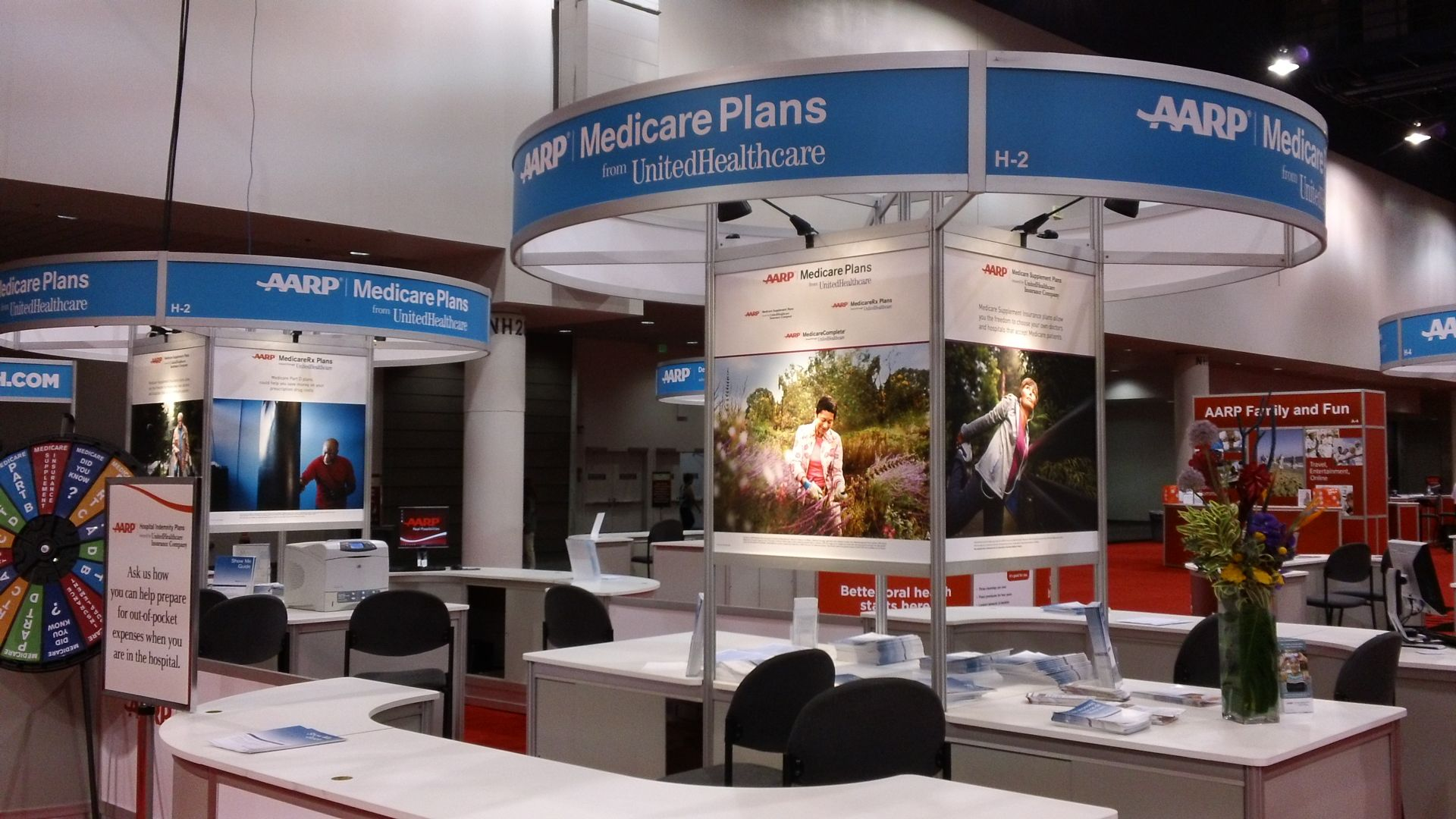 United Healthcare AARP convention, Medicare Station
