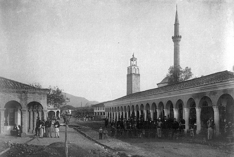 Tirana në vitet e para të shekullit 20.