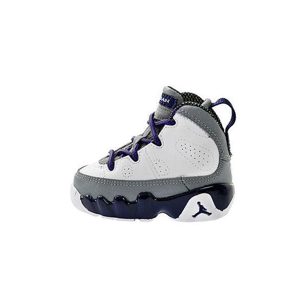 buy online 36716 26473 Toddlers Nike Air Jordan Retro 9 IX Purple/Grey/White 401812 ...