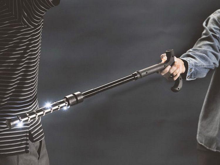 Stun Gun Walking Stick Gear Gadgets Walking Canes