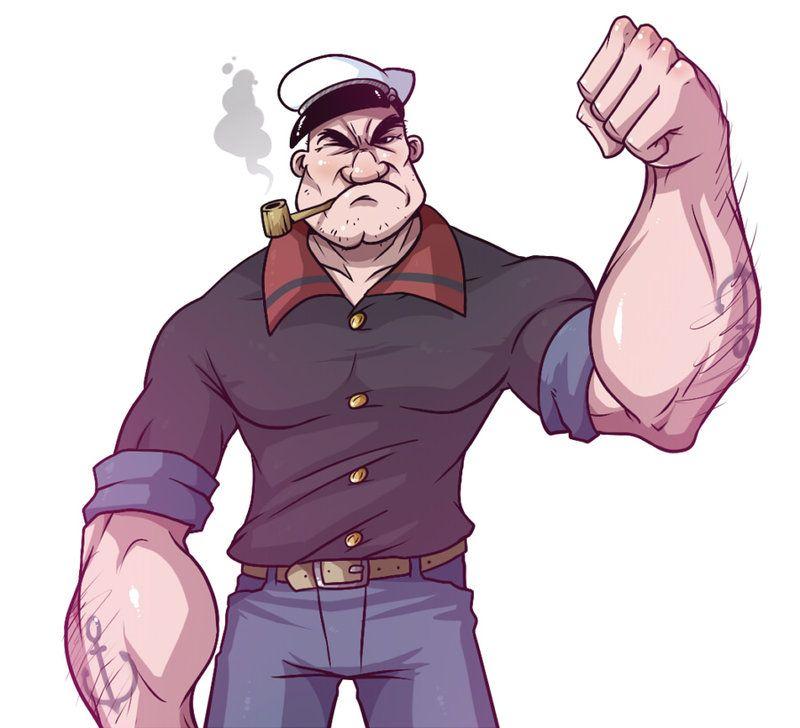 Pics Popeye the Sailor Man Free Image Wallpaper Download « Anime