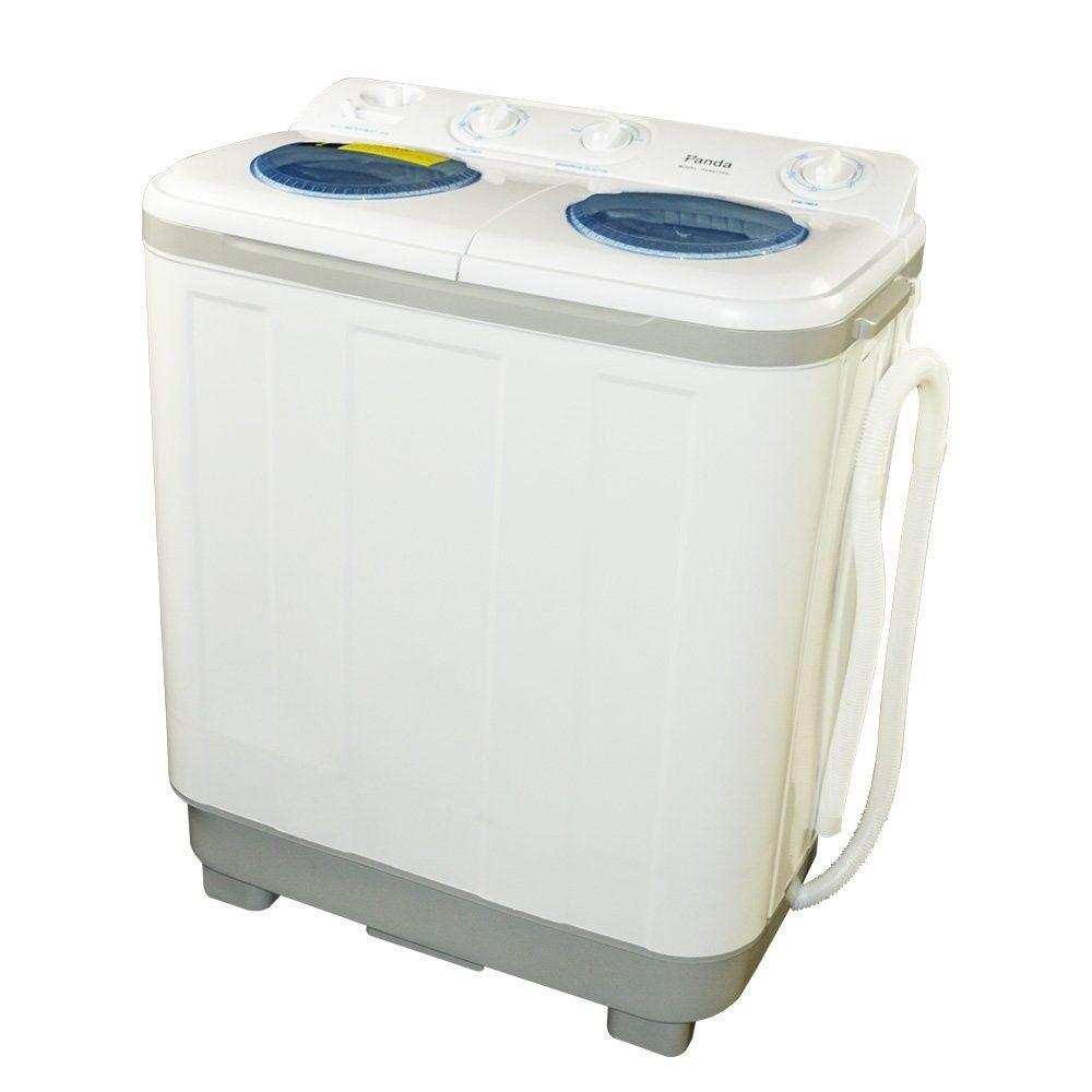 Panda Small Compact Portable Washing Machine 15 Lbs Capacity W