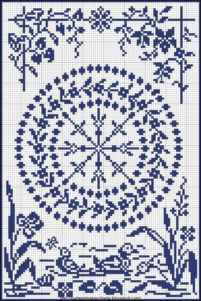 vintage stitch chart | 1 | Pinterest | Punto de cruz, Puntos y Bordado