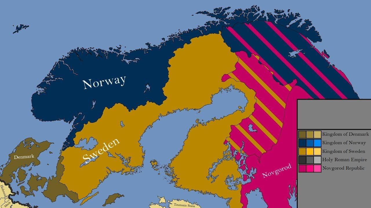 The History Of Northern Europe Every Year Scandinavia Pinterest