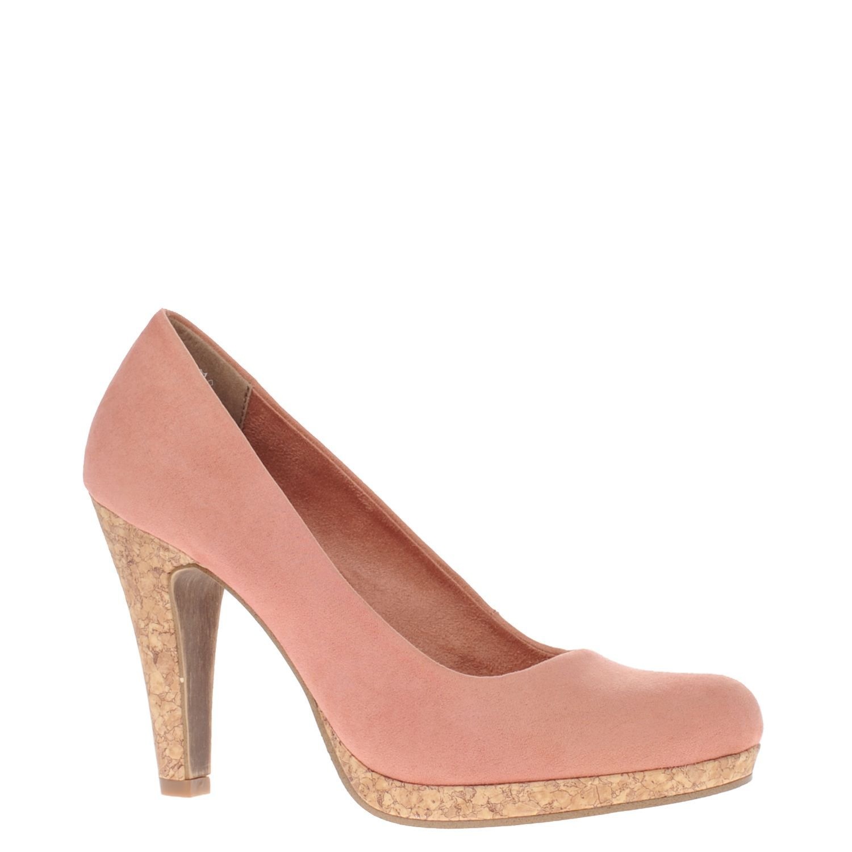 Marco Tozzi dames pumps roze   Nelson Schoenen online