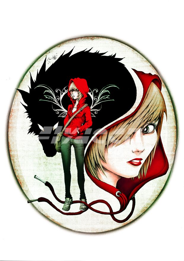 The Modern Red Riding Hood By Flydeco Deviantart Com On