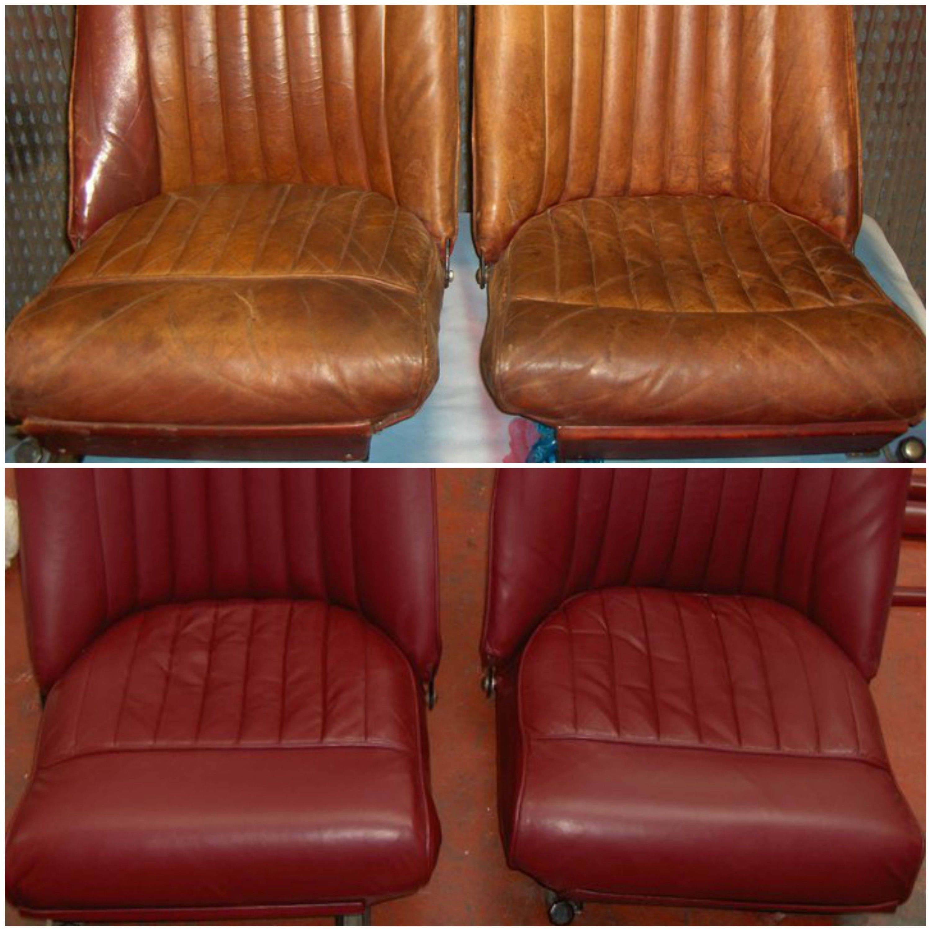 Restoring Leather Sofa Colour Sealy Replacement Cushions How To Restore Faded Car Seats The Interior Of