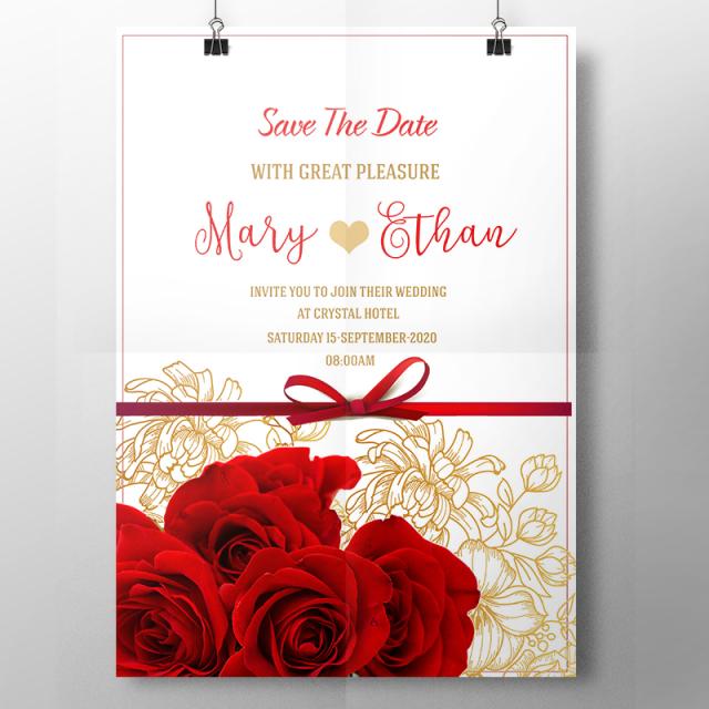 vector wedding invitation templates