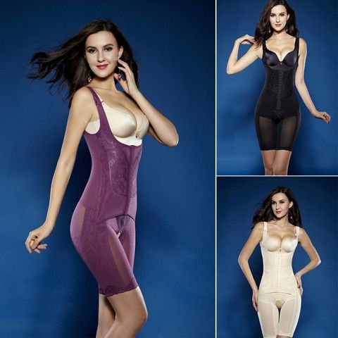 476b32cc77 Summer Magnetic Corset Shapewear Underwear Waist Training Corsets Bodysuit  Women Girdles Body Shaper