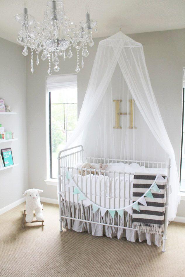 Room & A Minted Glam Nursery Design From Veronikau0027s Blushing | Nursery ...
