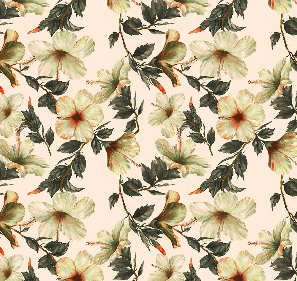 Tropical Patterns on Behance
