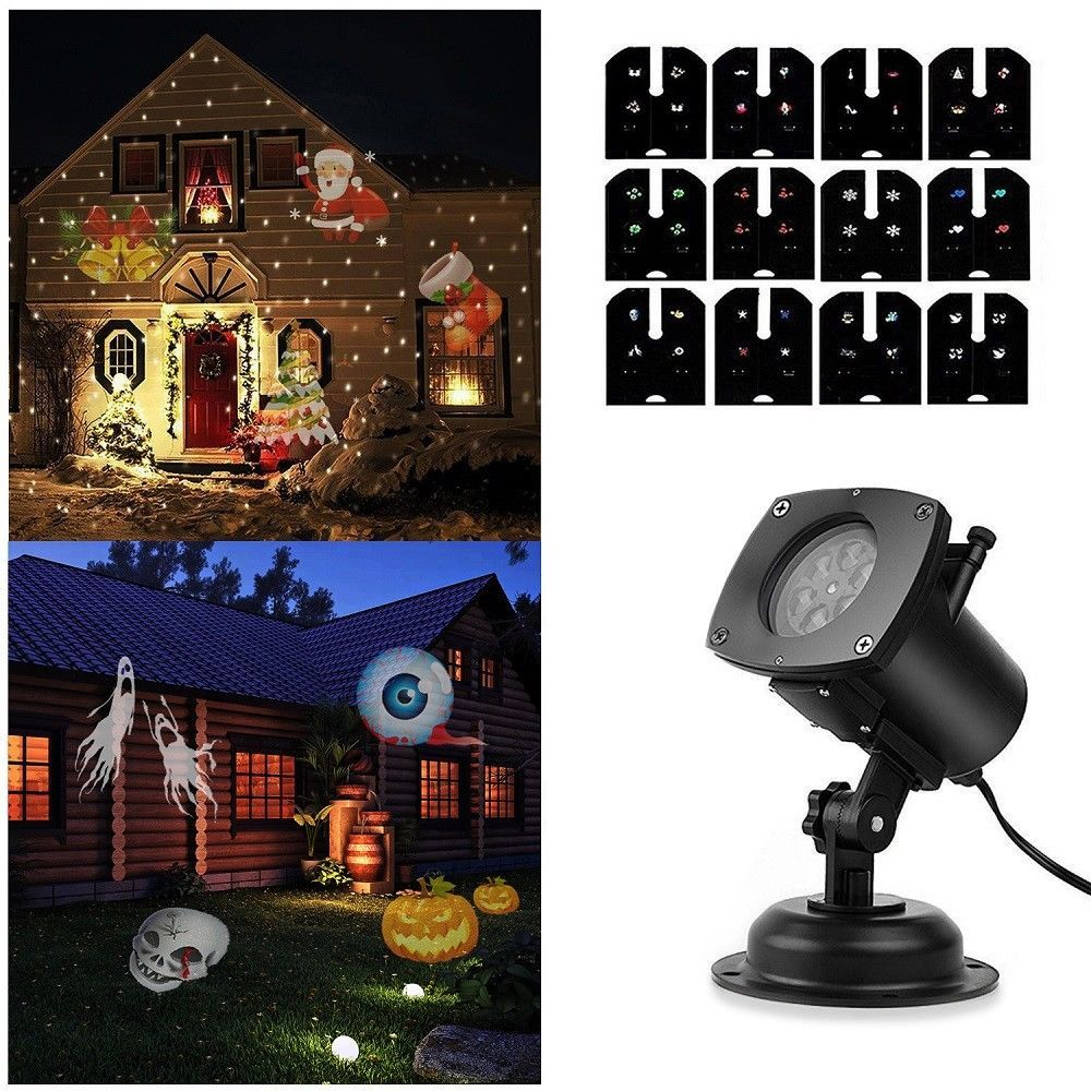 Halloween Special Effects Lighting Projectors Rotation