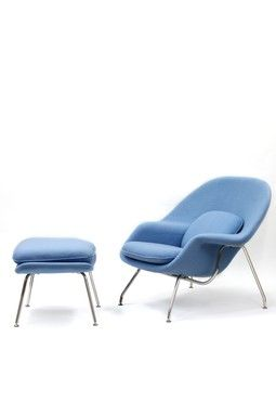 Periwinkle Blue Blue Lounge Chair Blue Furniture Chair And Ottoman