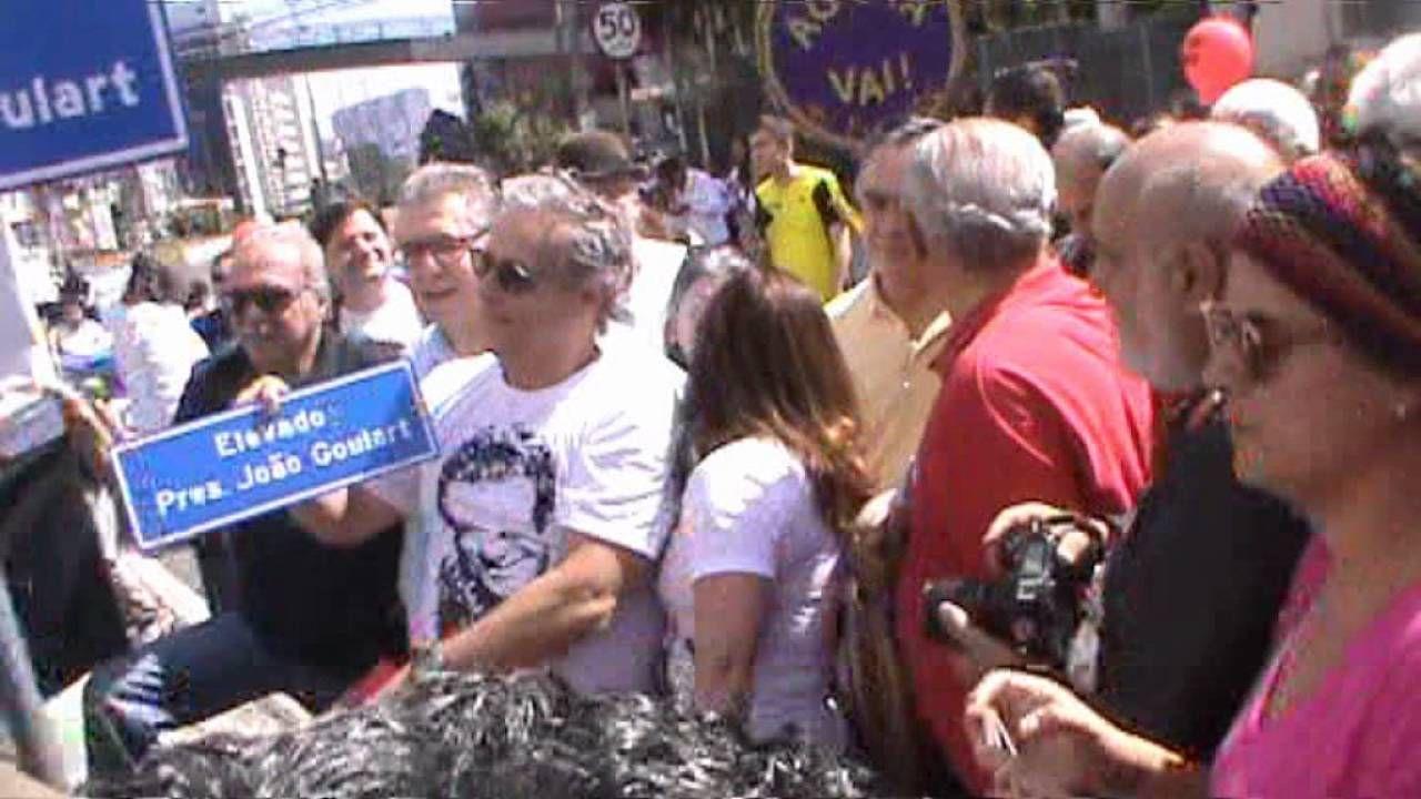 HOMENAGEM AO EX PRESIDENTE JOÃO GOULART - 14/08/2.016