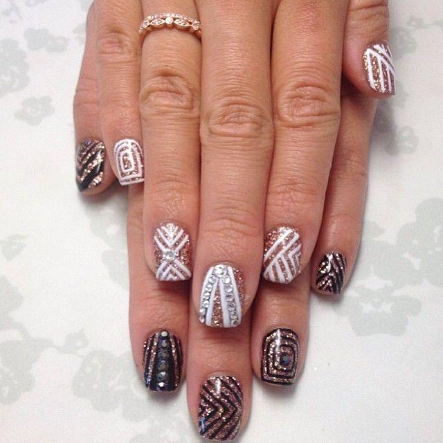 Nail Art Dan Extension Kuku: Instagram Photo By Chinailbar #nail #nails #nailart