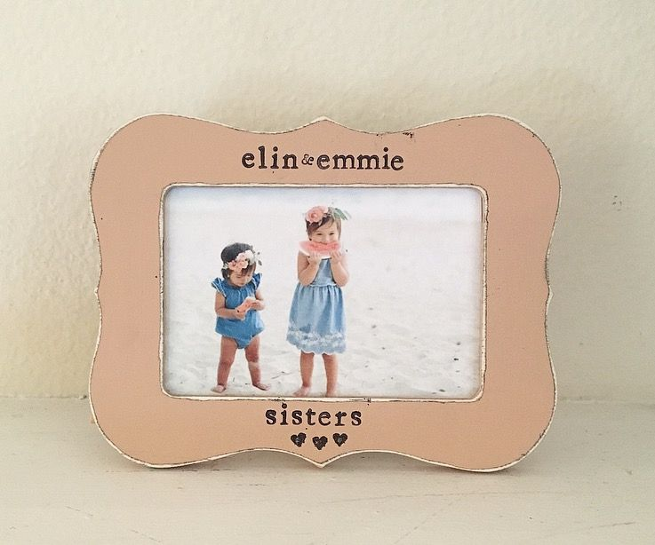 Sisters GIFT sisters picture frame little sister gift, big sister ...