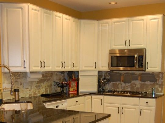 Update your cabinets without replacing the granite ...