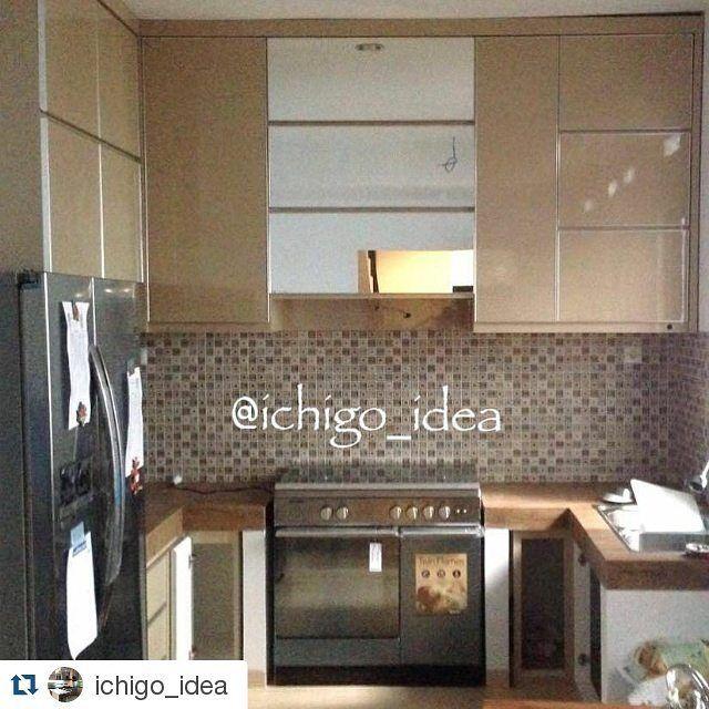 Repost Ichigo_Idea With Repostapp Kitchen Set Ata Villa Cinere Cool Kitchen Set Design Design Ideas