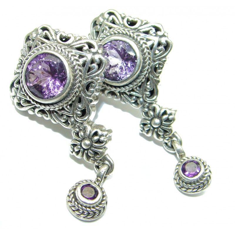 0825af4476764 SilverRushStyle.com - Genuine Pink Amethyst .925 Sterling Silver ...