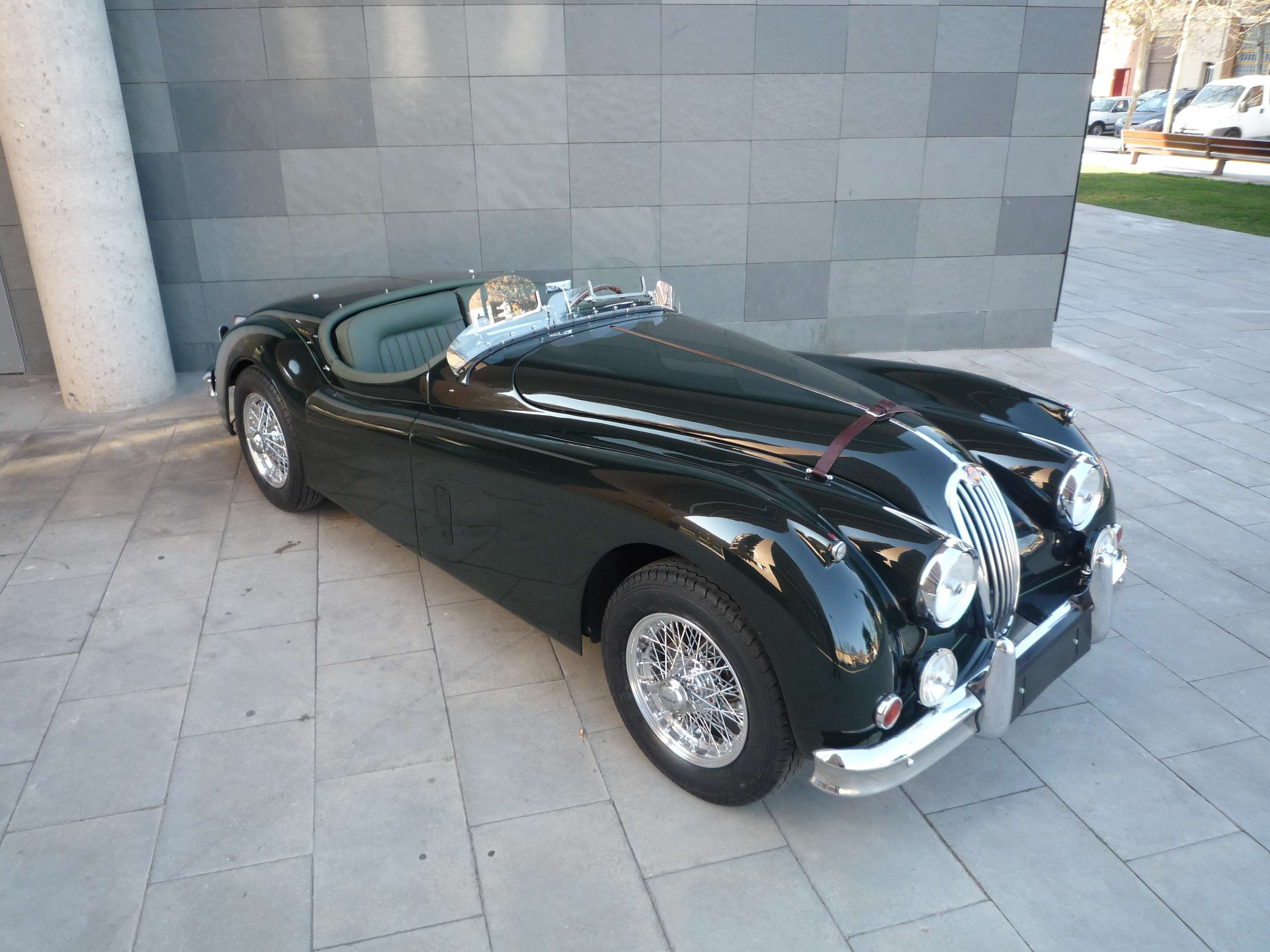 1956 jaguar xk 140 roadster le mans xks pinterest jaguar xk le mans and collector cars. Black Bedroom Furniture Sets. Home Design Ideas