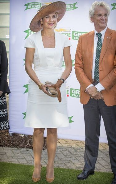 Dutch Queen Maxima Attends The Postcode Lottery Koningin Maxima