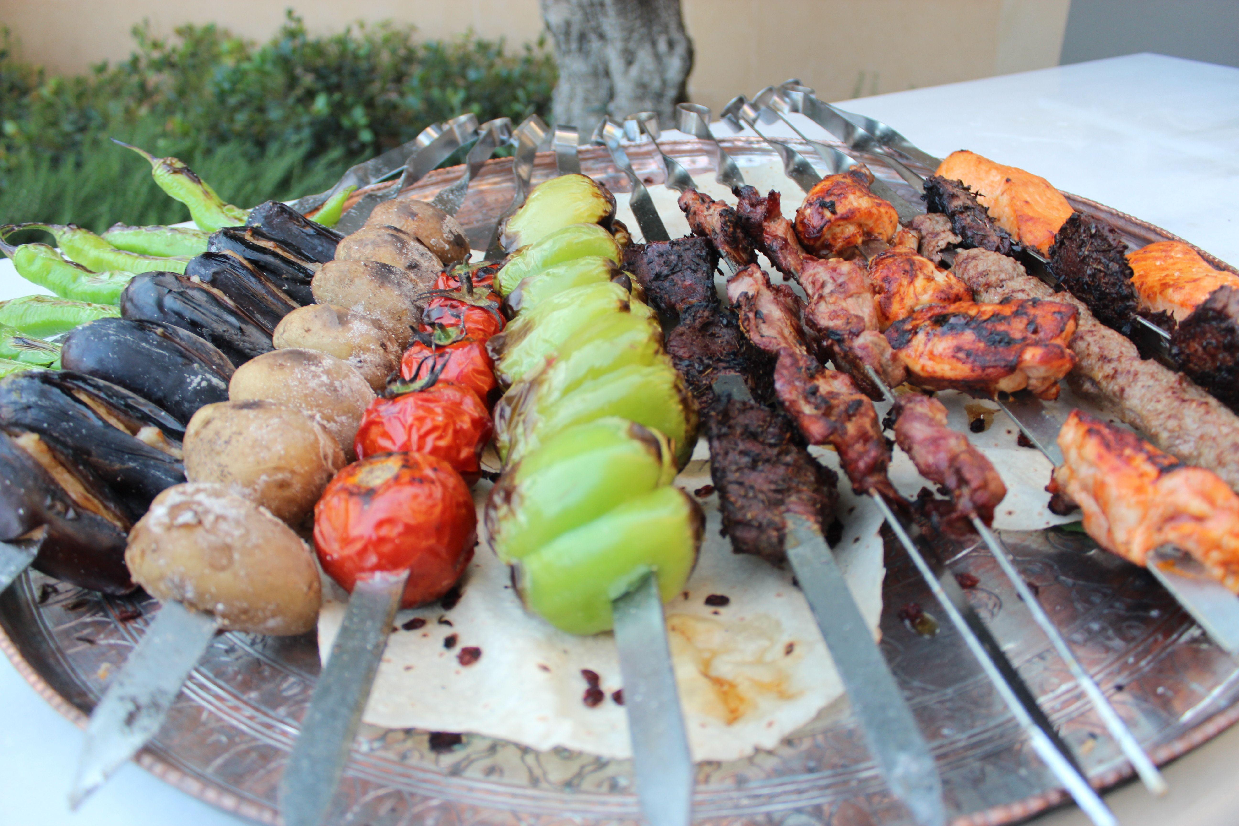 Lula kebabs from four seasons hotel baku azerbaijan for Azerbaijan cuisine