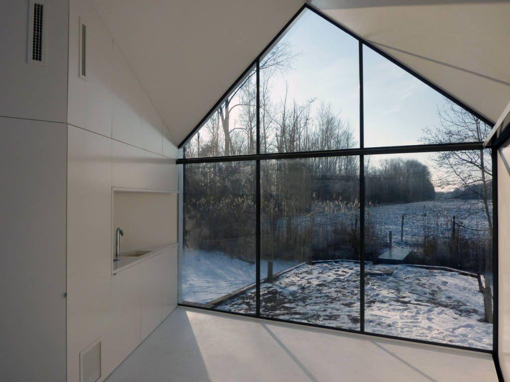 Moderne wohnzimmer von 2by4-architects modern ...