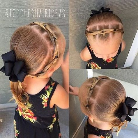 Coiffure Petite Fille Pour Ecole 20 Modeles With Images Baby Hairstyles Cute Little Girl Hairstyles Toddler Hairstyles Girl