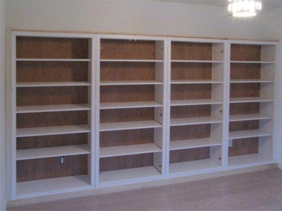 Hemnes Bookshelves Built In Hack Ikea Hemnes Bookcase