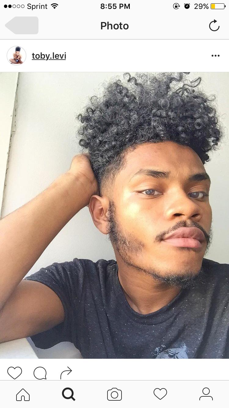 Haircuts for men with thick curly hair pin av ciara r på hair uc  pinterest