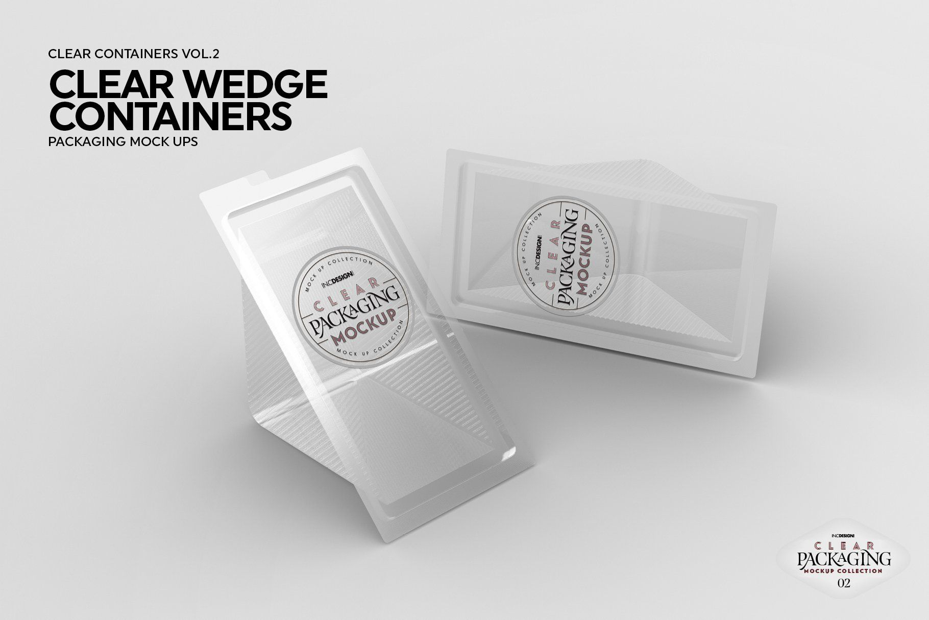 02 Clear Container Packaging Mockups Packaging Mockup Clear