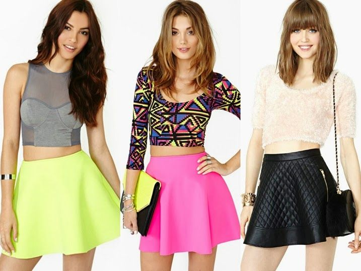 Crop Tops For High Waisted Skirts | Jill Dress