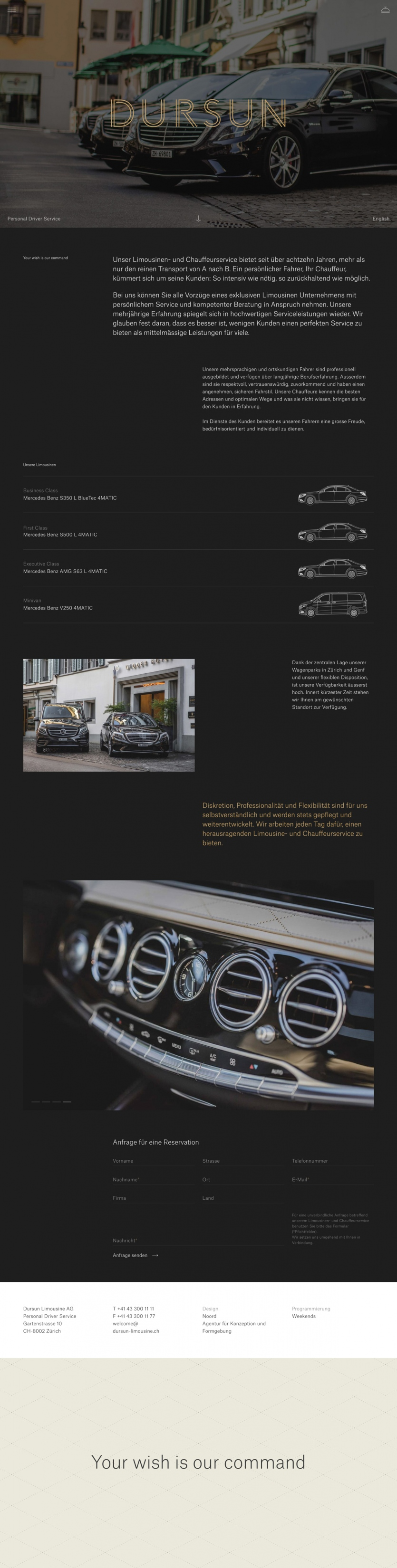 Dursun Personal Driver Service Mindsparkle Mag Web Design Inspiration Person Web Design
