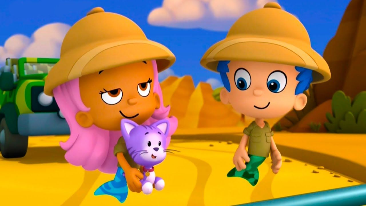 Gill And Molly Save The Parrot Children S Game Bubble Guppies About Animals Brodigames Youtube Bubble Guppies Guppy Childrens Games