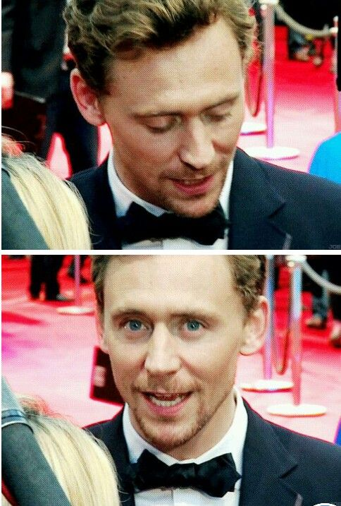 ummm has any one else noticed that now Tom Looks like Loki in all of his pictures?