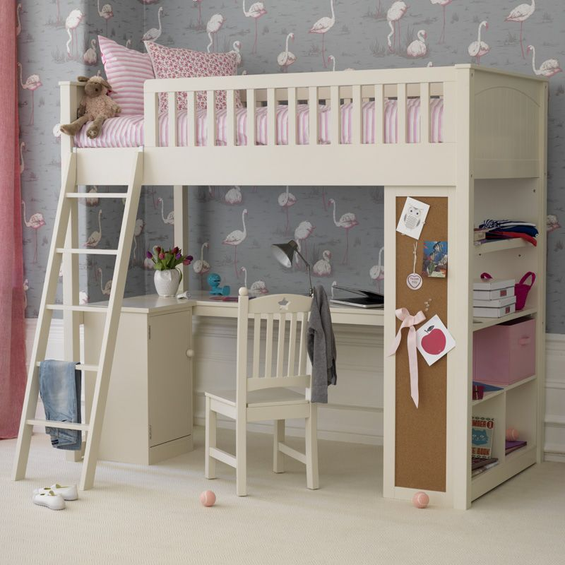This Stylish High Sleeper Features A Moveable Cabinet That Fits Underneath On Either Side Or Can Be Put Elsewhere In The Room