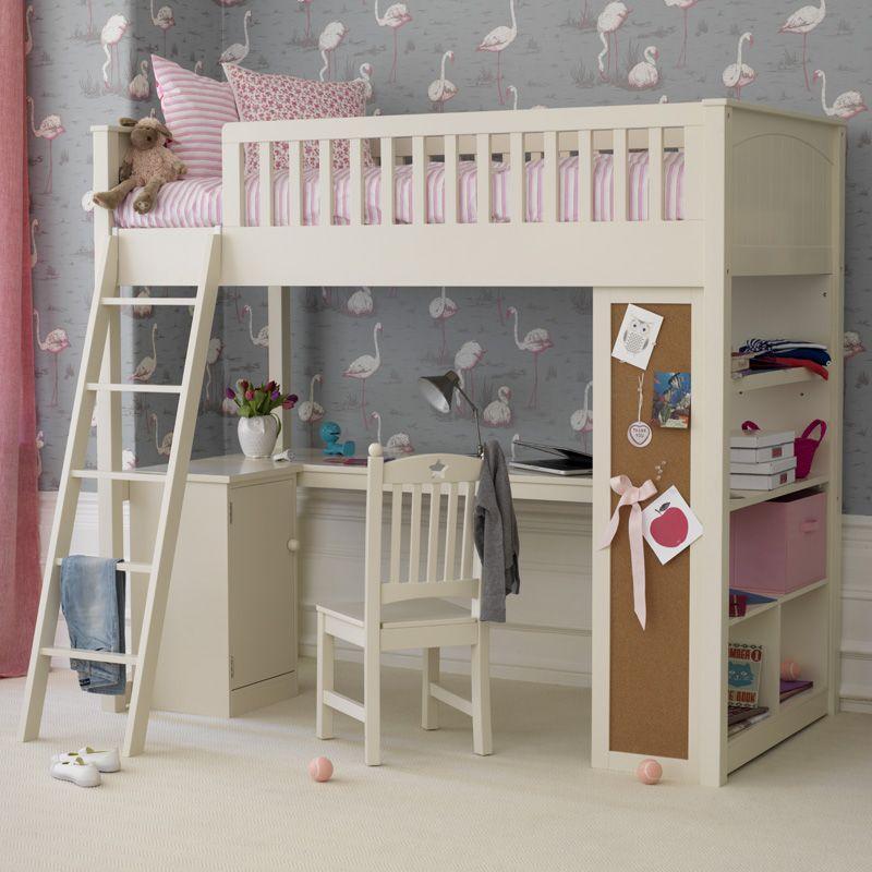 Noah Highsleeper S Cabin Bed Kid Beds Bunk With Desk