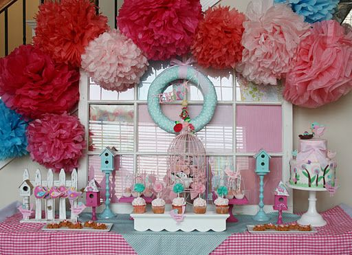 And Everything Sweet: Bird Baby Shower