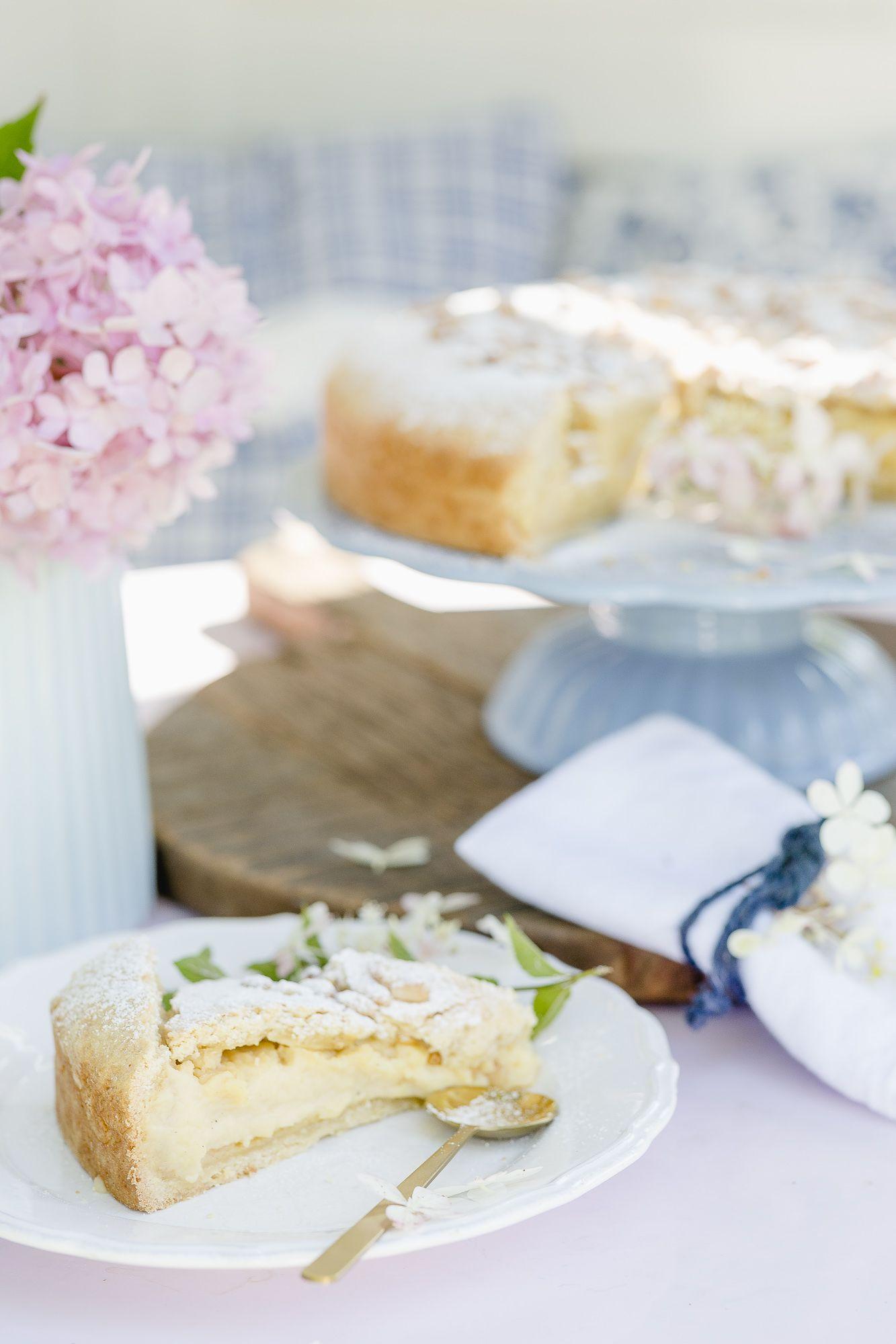 Torta Della Nonna Omas Kuchen Rezept Kuchen Und Torten Dessert Ideen Und Kirschkuchen Mit Streusel