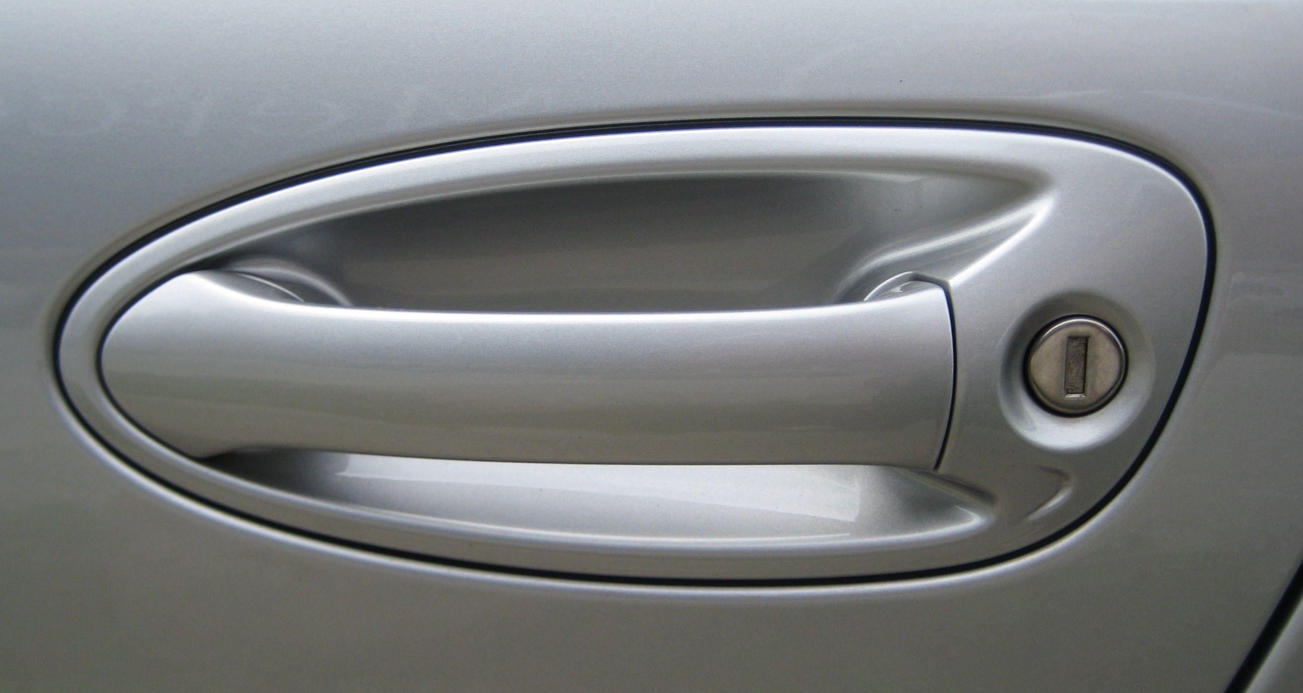 Car Door Handle with Keyhole in Los Angeles https://public.fotki.com ...