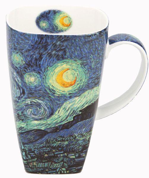 The perfect latte mug featuring van Gogh's